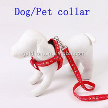 Hot wholesale/customize high quality LOGO Jacquard webbing dog collar