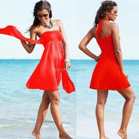 Hot Multy way 2015 Long Wholesale Convertible dress/skirt