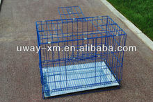 New arrival double door iron pet cage for dogs & cats