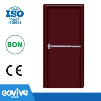 2 hours fire rated wooden door with UL certification