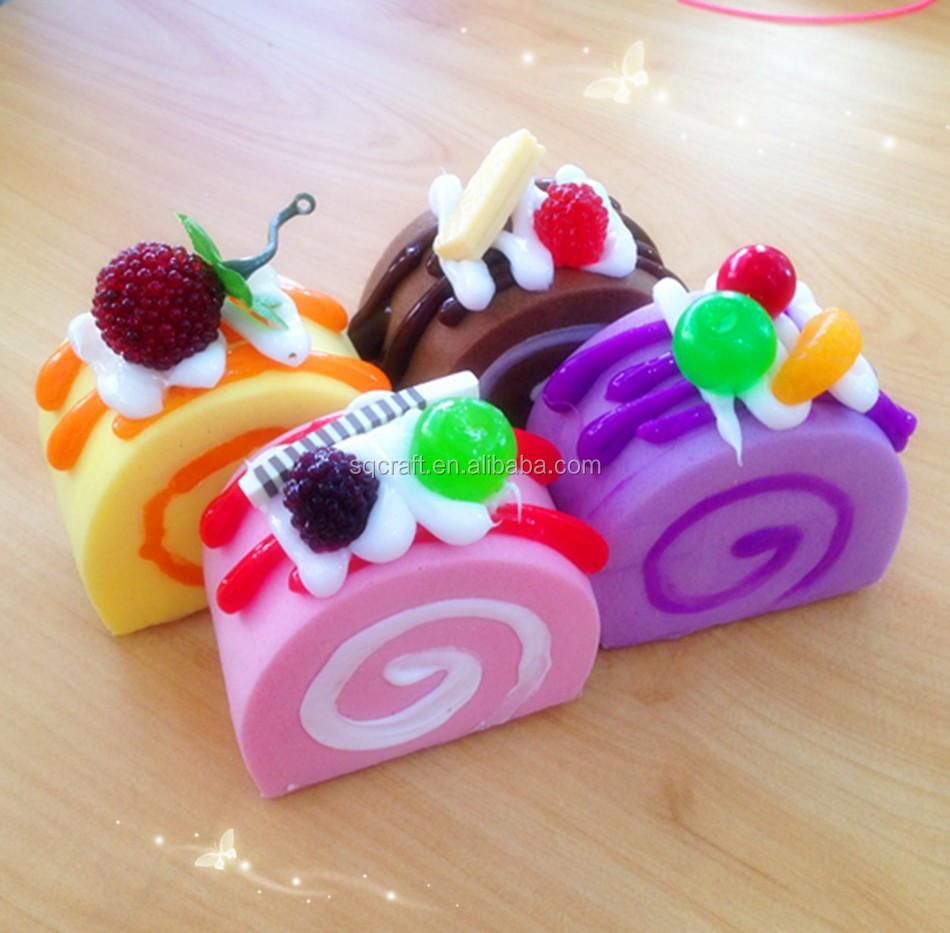 Squishy Disney Cake Roll : Kawaii Squishy Swiss Roll Sponge Cake With Fancy Top Phone Straps/yiwu Sanqi Craft Factory - Buy ...