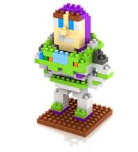 Juguetes educativos Kid toy story buzz lightyear bloques de construcción del diamante