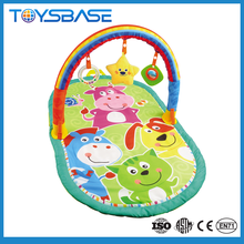 2015 baby playing musical cartoon mat for baby blanket toy