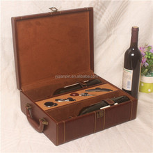 Custom Packaging Wooden Box Wine Opener Set