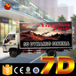 New business idea car and truck simulator 7d mobile dynamic kino