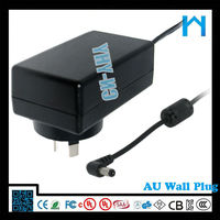 power dc ac adapter 9V 2A ce vde powerline ac/dc adapters dc 9V adapter for lcd tft monitor 18W CE UL cUL ROHS
