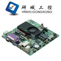 Mini Itx industrial motherboard Intel 1037U /DC 12V /Dual 24bit LVDS Motherboards POS Machine industrial Mini ITX-M18_D2