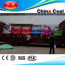 China coal group electric car with air conditioning / 4 seats 5-door wholesaler electric car for promotion