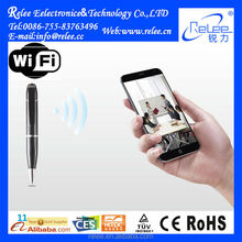 Cheap product two-way voice wifi Spy Pen Camera with ip