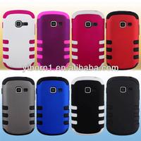 Cell Phone Accessory Rubber Impact Tuff Hybrid Case Phone Cover case For Samsung Galaxy Centura S738C