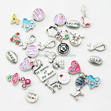 chinese factory custom design floating locket charms