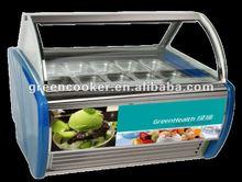 HOT SALE!commercial ice cream showcase,tecumseh compressor