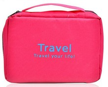 wholesale canvas promotional contents cosmetic bag