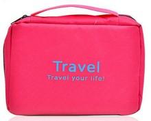 wholesale fashion canvas travel cosmetic bag