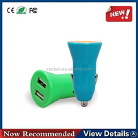3.1A Electric 3 port dual usb car charger for iphone for ipad and for Android phone