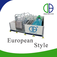 Customized Pig Equipment Pig Farrowing Crate