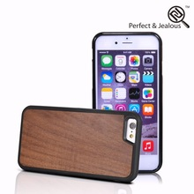2 years warranty Natural wood flip cover mobile phone case for iphone 6
