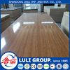 wood grain high glossy UV coated melamine faced MDF board of all size for decoration made from shandong China uv panels