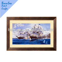 ocean scenery photo top quality wooden photo frame wall art