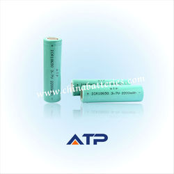 18650 dry cell rechargeable battery/cell