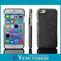 """Back cover wallet leather cell phone case / Card slots leather case for iphone 6 4.7"""""""
