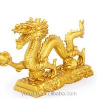 Large bronze animal garden statues,bronze dragon sculptures