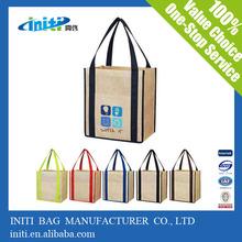 de compras reciclables bolsa de algodón