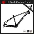 1220g/pcs leve carbono quadro da bicicleta na china, mkw marca fibra de carbono mountain bike quadro para 26er mtb rodas