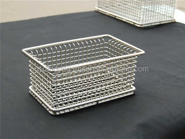 Small Box Aisi 304 Stainless Steel Storage Baskets Buy
