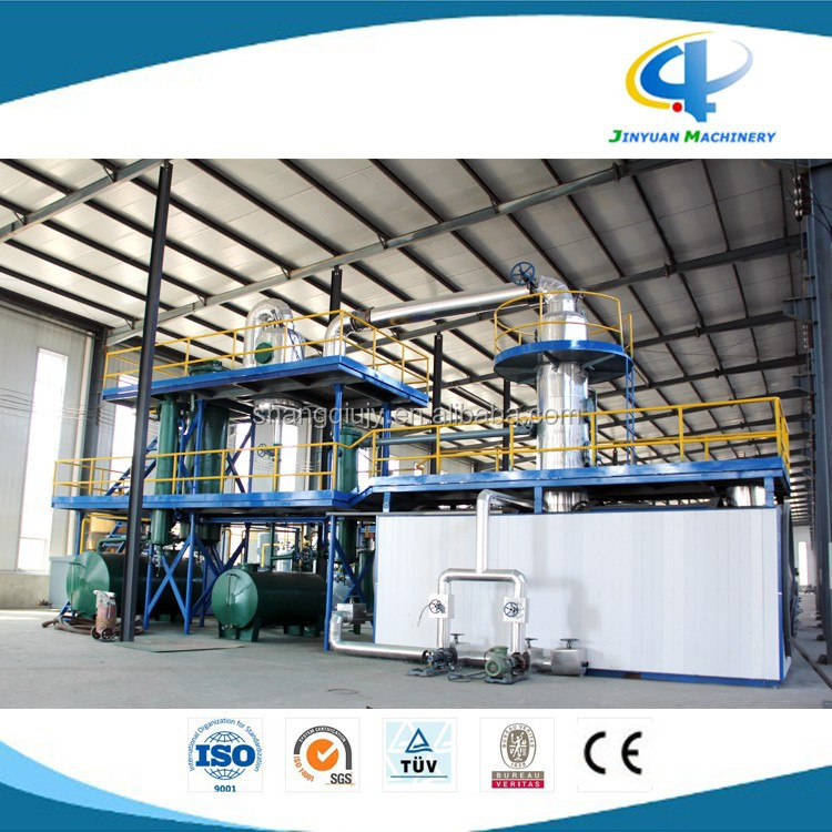 Crude oil waste engine oil fuel oil distillation refinery for Waste motor oil to diesel