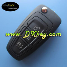 High quality 3 buttons car key 433/315mhz,4d63 chip for Ford Focus key ford focus remote key