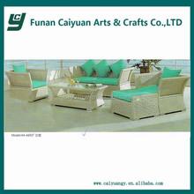 2015 new design plastic rattan furniture outdoor sofa