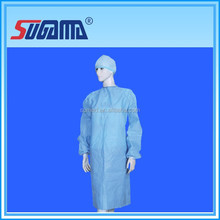 disposable anti-water hospital sterile cap gown with competitive quality