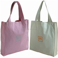 OEM Production Fashion high quality shopping Recyclable wholesale plain cotton bags