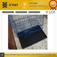Folding Metal Wire Mesh Dog Cage