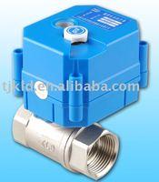 KLD20S mini motorized ball valve for automatic control,HVAC, water treatment