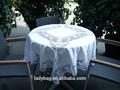 bordar à mão toalha de algodão
