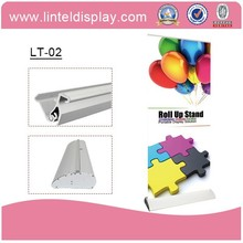 good quality aluminium banner roll up stand for advertisement