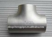 butt welded aluminum pipe fittings equal tee
