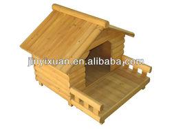 Wooden Dog Kennel with Veranda / Dog House