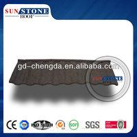 Eco friendly roofing shingles/shingle stone coated roofing tile