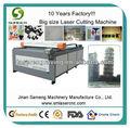 15mm mdf laser máquina de corte com 130w poder