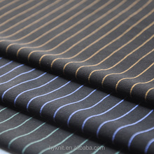 black and white striped polyester fabric stripe fabric for shirt and pants