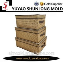 Home simple High quality /Hot sale rattan storage box with lids
