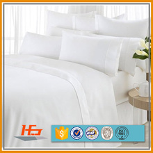 Brush 100 polyester peach silk 120 gsm microfiber bed sheet