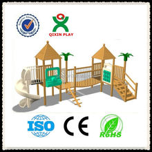 Play Park wood outdoor playsets/best outdoor play equipment/fun backyard ideas for kids/QX-11058C
