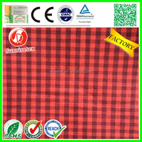 Customized wholesale yarn dyed cotton fabric factory
