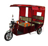Electric tricycle rickshaw with fiber roof for Indian market ( TRI-8 )