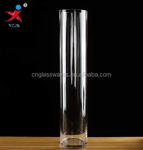 100cm tall tube glass lamp vase for washroom decoration buy tall glass vase for flower. Black Bedroom Furniture Sets. Home Design Ideas