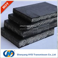 China Factory Top 10 Industrial High Temperature Heat Resistant EP Conveyor Rubber Belt
